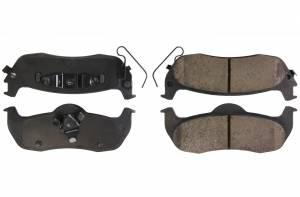 CENTRIC BRAKE PARTS #105.1041 Posi-Quiet Ceramic Brake Pads with Shims and Hardware