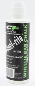 CLEAR ONE #WRC1 Wheelie Bar Chalk White 3oz