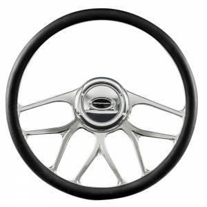 BILLET SPECIALTIES #34007 Steering Wheel 1/2 Wrap 15.5in BLVD 07