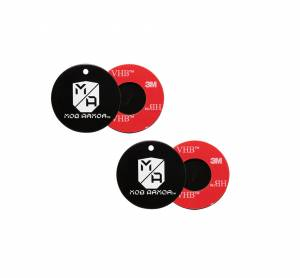 MOB ARMOR #MOB-MD Mounting Disc 2-Pack