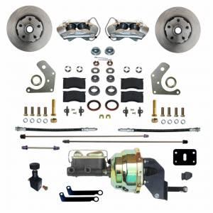 LEED BRAKES #FC2002-8405 Power Brake Conversion Mopar B & E Body