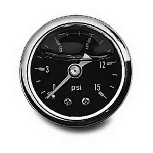 RUSSELL #650330 0-15 PSI Fuel Pressure Gauge