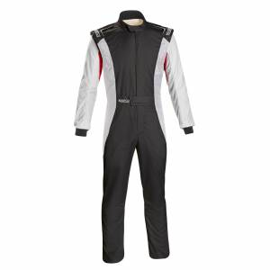 SPARCO #001128SFB60NRBR Comp Suit Black/Red X-Large
