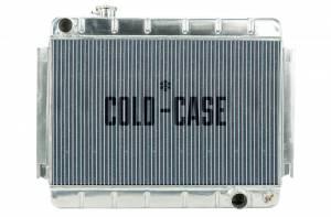 COLD CASE RADIATORS #CHE542 66-67 Chevelle Radiator MT