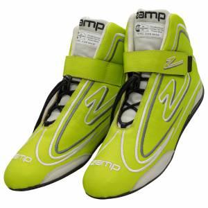 ZAMP #RS003C0911 Shoe ZR-50 Neon Green Size 11 SFI 3.3/5