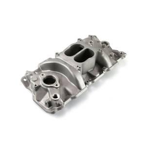 SPEEDMASTER #1-147-001 SBC Intake Manifold Low-Rise Design
