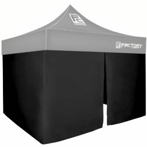 FACTORY CANOPIES #40001-KIT Wall Kit Black 10ft x 10ft Canopy