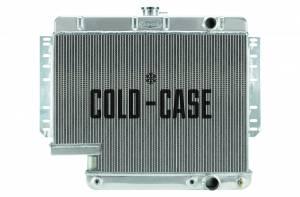 COLD CASE RADIATORS #CHI565A-5 61-65 Impala with 500 Steering Box Radiator