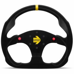 MOMO AUTOMOTIVE ACCESSORIES #R1960/32S MOD 30 Steering Wheel Black Suede