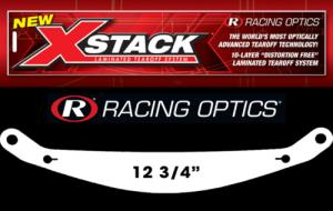 RACING OPTICS #10245C Laminated Tearoff Arai GP6 W/ F1 Protector