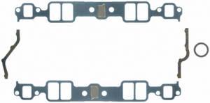 FEL-PRO #1204 SBC Intake Gasket Set 1.23in x  1.99in .060in