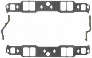 FEL-PRO #1263 SB Chevy Intake Gaskets Aluminum Head App.