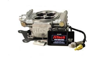 FiTECH FUEL INJECTION #30001 Go EFI 4 600hp Basic Kit Bright Tumble Finish