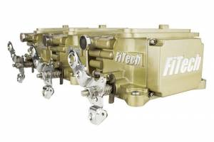 FiTECH FUEL INJECTION #39610 Go EFI 3x2 Tri Power EFI System Classic Gold