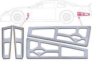 FIVESTAR #000-501 Speedway Body Brace Kit
