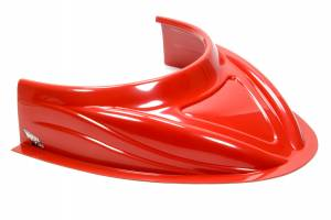 FIVESTAR #040-4113-R MD3 Hood Scoop 5in Tall Flat Red