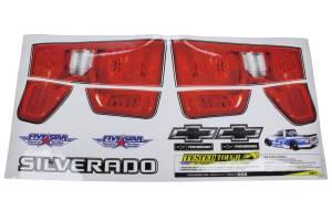 FIVESTAR #21191-44541 2019 Chevy Silverado Tail ID Graphics Kit