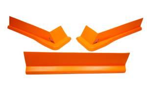 FIVESTAR #3022-417-FO Modified Aero Valance 3pc. Fluorescent Orange