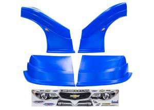 FIVESTAR #32123-43554-CB-FR MD3 Evo DLM Combo Flt RS Chevy SS Chevron Blue
