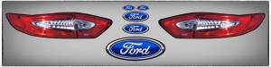 FIVESTAR #500-450-ID Tail Only Graphics Kit 2013 and up Fusion