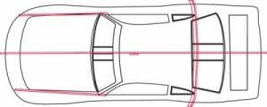 FIVESTAR #660-82 ABC Wood Template Set Impala
