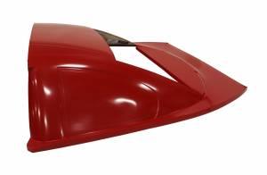 FIVESTAR #671-5102L-R Roof Rear Greenhouse ABC L/W Fiberglass Red