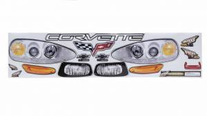 FIVESTAR #925-410-ID Nose Only Graphics MD3 Corvette