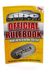 FIVESTAR #TT-000-ABC ABC Rulebook Version 9.0 * Special Deal Call 1-800-603-4359 For Best Price