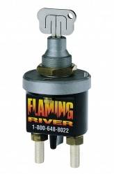 FLAMING RIVER #FR1009 Battery Disconnect Laser Cut Key Switch