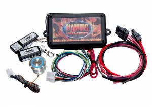 FLAMING RIVER #FR60004 Programmable Keyless Ignition Dash Mount