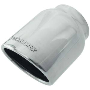 FLOWMASTER #15371 Exhaust Tip Embossed Logo Polished S/S