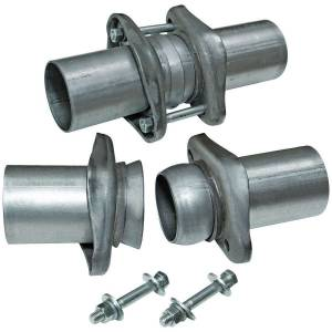 FLOWMASTER #15925 Ball Flange Header Collector Kit 3in to 2.5