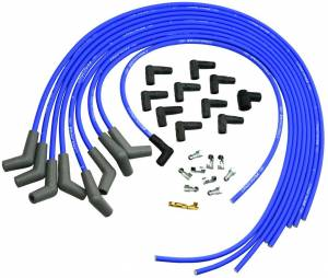 FORD #M-12259-C302 9mm Ign Wire Set-Blue