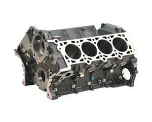 FORD #M-6010-BOSS50 5.0L Cast Iron Mod Motor Block
