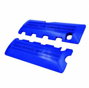 FORD #M-6P067-M50B Coil Covers Blue 2011-12 5.0L 4v Mustang GT