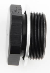 FRAGOLA #491980-BL Inlet Plug 7/8-20 Blank Black