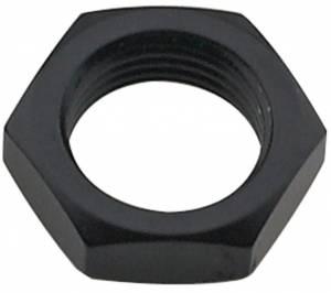 FRAGOLA #492406-BL Bulkhead Nut #6 Black