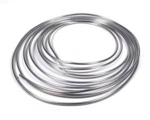 FRAGOLA #890004 1/4in x .035 Aluminum Tubing 25ft Roll