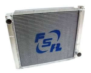 FSR RACING #2419T2 Radiator Chevy Triple Pass 24x19