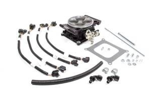 FAST ELECTRONICS #304155-06 EZ EFI 1.0 Dual Quad Upgrade Kit - Black
