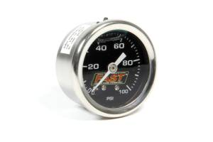 FAST ELECTRONICS #54027G Fuel Pressure Gauge 0-100 PSI