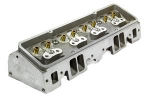 FLO-TEK #101-500 SBC 180cc Alum Cyl Head 64cc 2.02/1.60 A/P Bare
