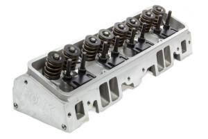 FLO-TEK #101-505 SBC 180cc Alum Cyl Head 64cc 2.02/1.60 A/P Assm