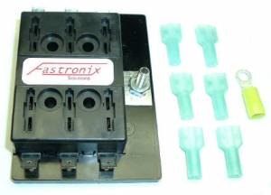 FASTRONIX SOLUTIONS #500-004 MULTI-CIRCUIT FUSE PANEL 8 CIRCUITS