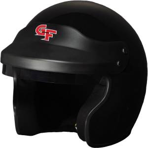 G-FORCE #3121SMLBK Helmet GF1 Open Face Small Black SA2015* Special Deal Call 1-800-603-4359 For Best Price
