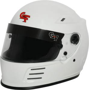 G-FORCE #3410XSMWH Helmet Revo Full Face X-Small White SA2015* Special Deal Call 1-800-603-4359 For Best Price