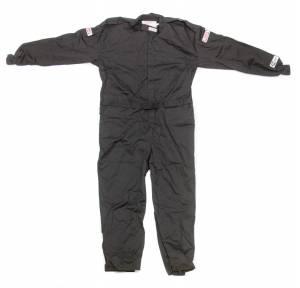 G-FORCE #4125XXXBK GF125 One-Piece Suit XXX-Large Black