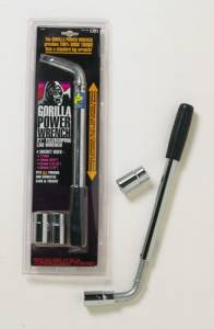 GORILLA #1721 Telescoping Lug Wrench w/(2) Dual Sockets