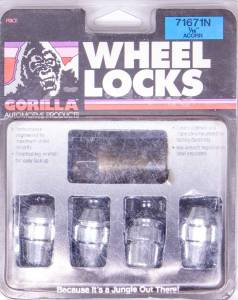 GORILLA #71671N Wheel Lock 7/16 Acorn (4)