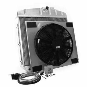 GRIFFIN #CU-70018 Radiator Combo Unit GM 55-57 Chevy
